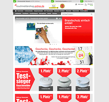 RauchmelderShop Startseite