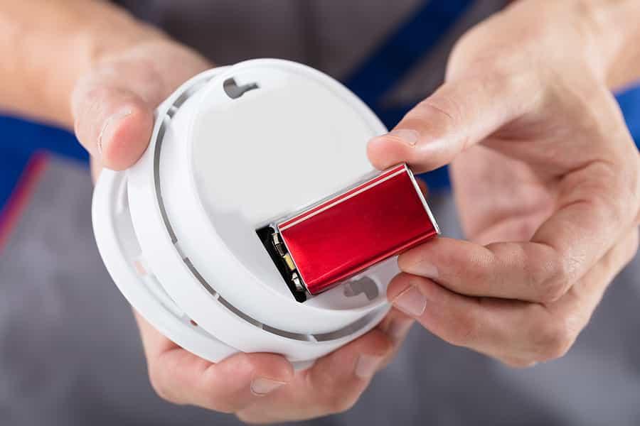 Rauchmelder Batterie wechsel