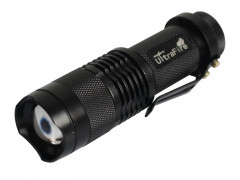 Ultrafire Mini R3 LED fokussierbar Cree XP-E max. 200 Lumen