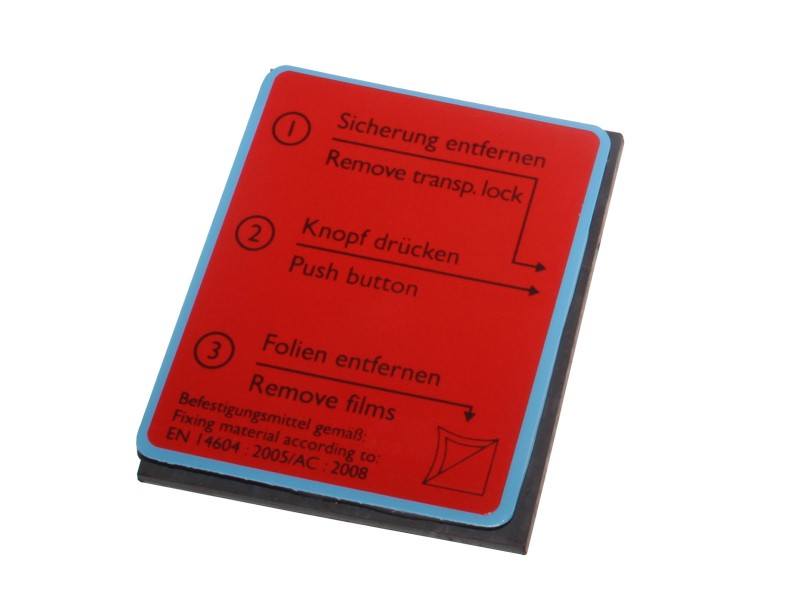 Magnet-Gel-Klebepad für Rauchmelder Pyrexx | RauchmelderShop