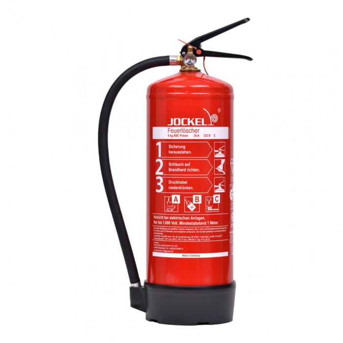 Gut bekannt ABC Pulverfeuerlöscher 6 kg mit Manometer | RauchmelderShop DD17