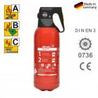ABC Mini - Pulverfeuerlöscher Jockel 2 kg PS2JM 13 PS2JM13