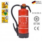 ABC Pulverfeuerlöscher 6 kg Jockel P 6 JX 34 P6JX34