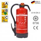 ABC Pulverfeuerlöscher 9 kg Jockel P9JX 55 P9JX55