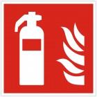 SQS Feuerlöscher Schild 150x150 KNS Brandschutzzeichen nach ISO 7010 SQS_5833006