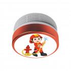 Rauchmelder ELRO FS8110 Kinder-Design Feuerwehrmann SQS_ELFS811016