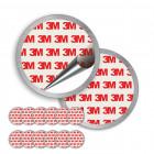 SQS ELRO Magnetpad 6er-Set für Rauchmelder-Montage 307002